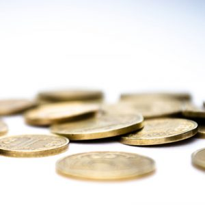 hoard of gold coins
