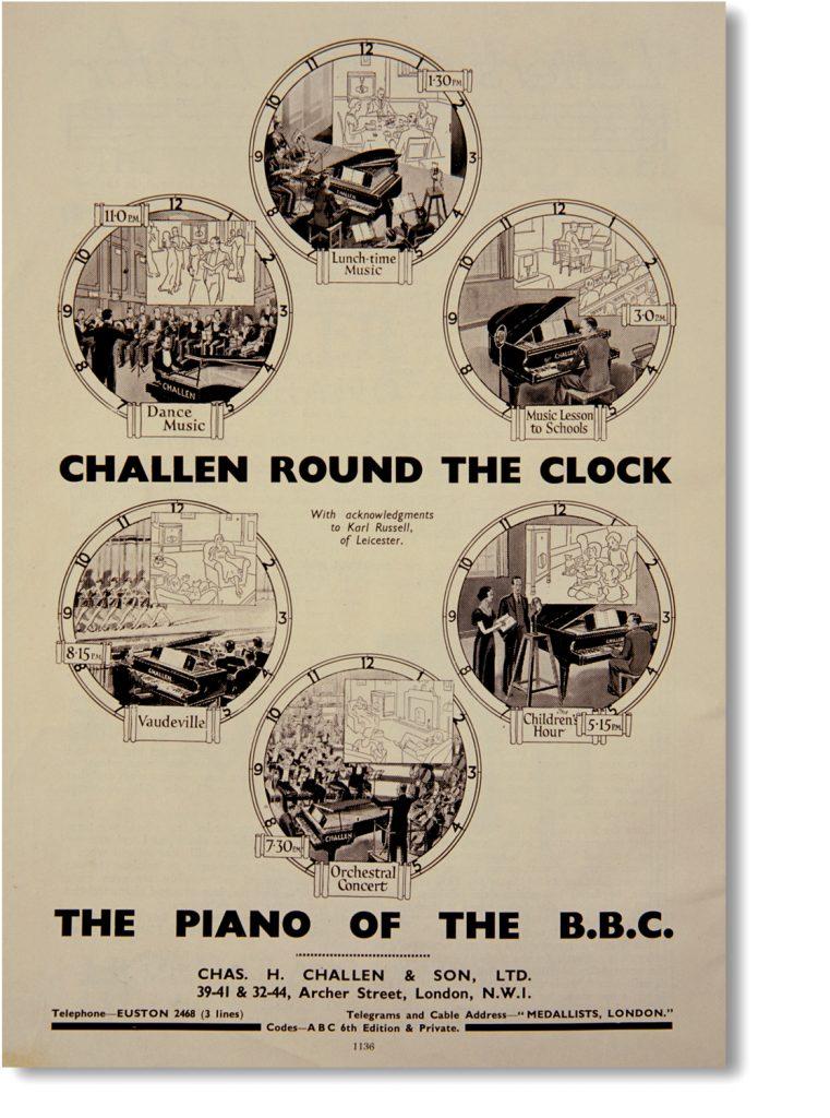 Challen at the BBC Advert