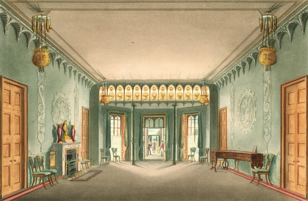 Brighton's Royal Pavilion Entrance Hall