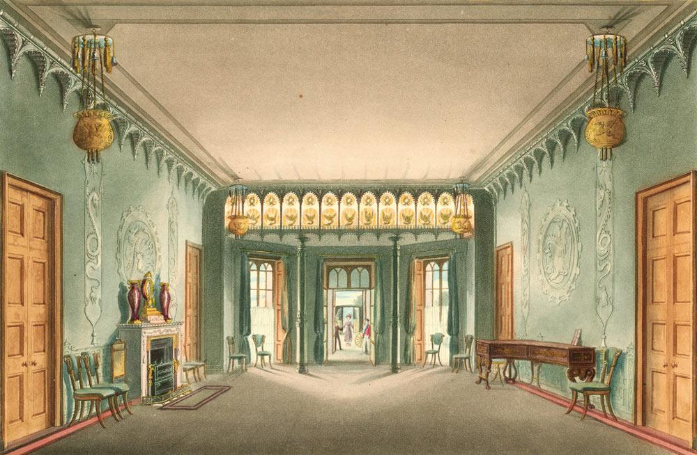 Brighton's Royal Pavilion Entrance Hall