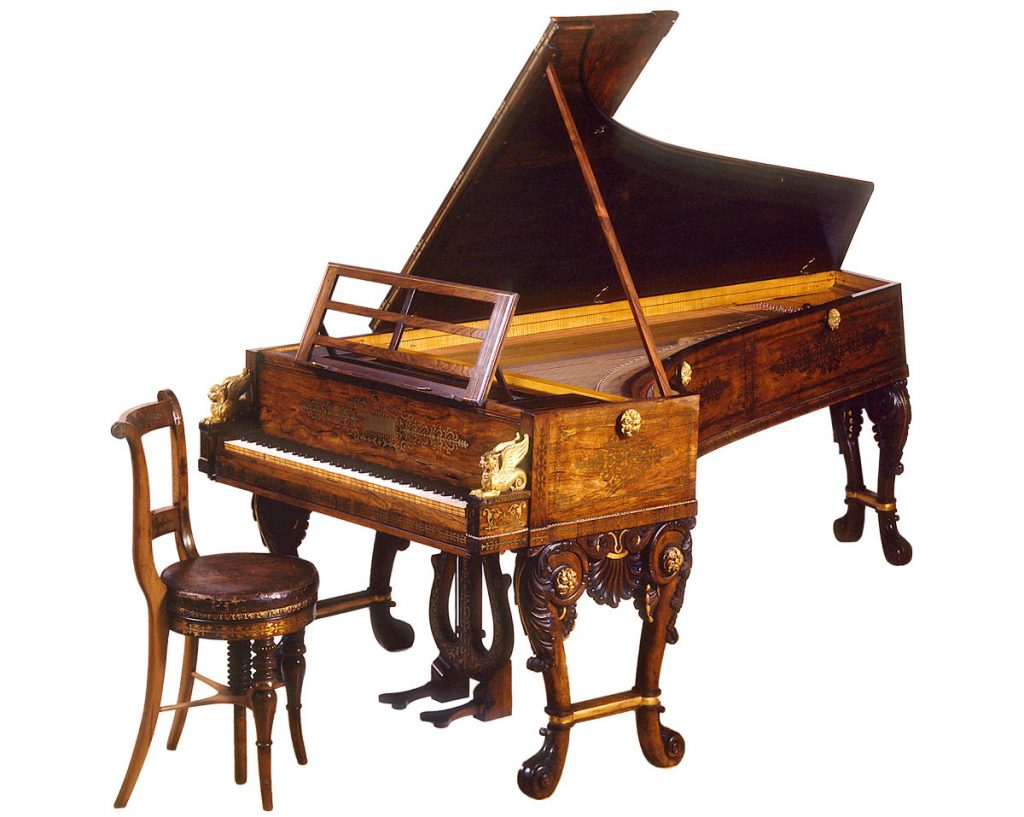 Thomas Tomkison grand piano