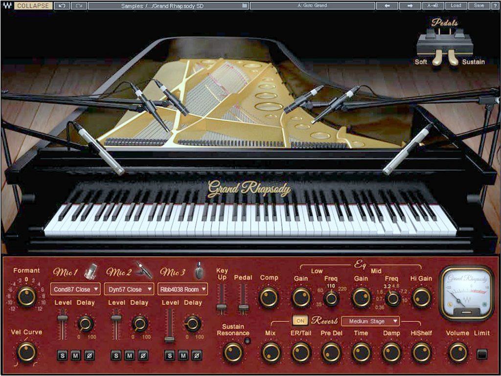 Waves' Grand Rhapsody Piano
