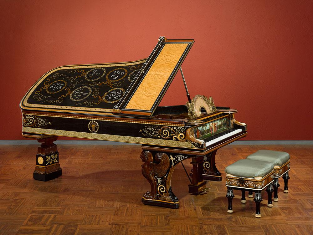 The Alma-Tadema Steinway Piano