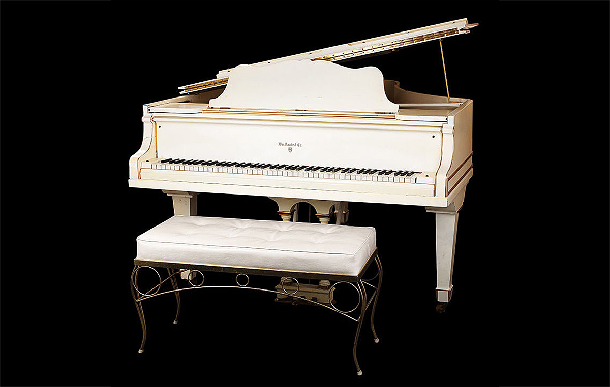 Elvis Presley's 1912 Knabe Grand Piano
