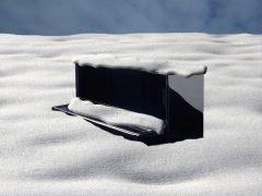 bosendorfer in snowdrift