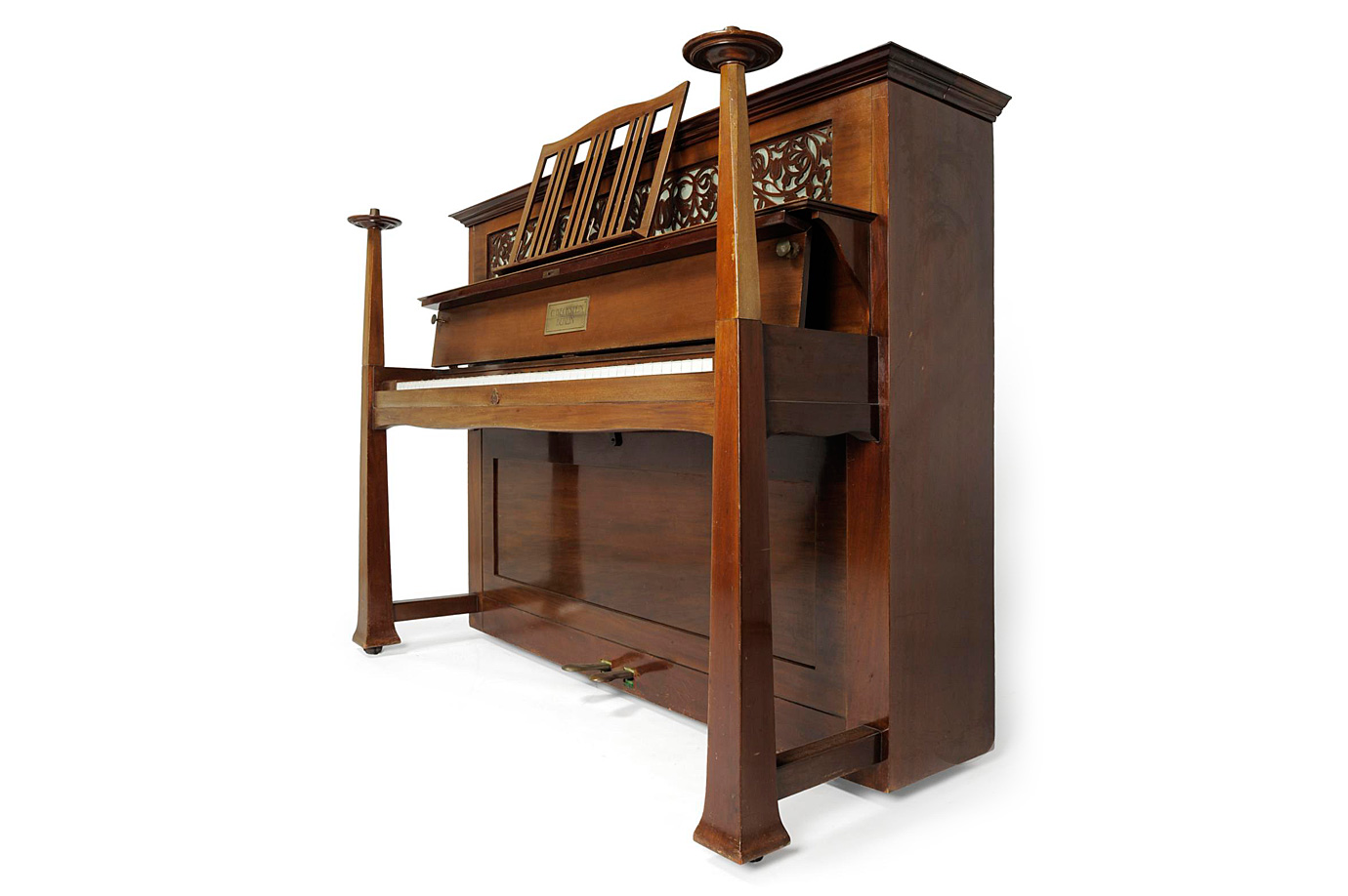 Walter Cave Bechstein upright piano