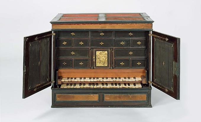 Claviorganum 1598