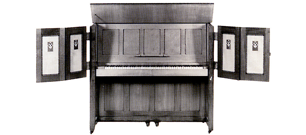 "Strohmenger & Sons ""Manxman"" upright piano"