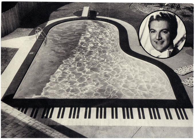 Liberace's Sherman Oaks swimming pool