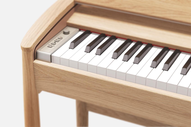 KF-10's minimalistic control piano