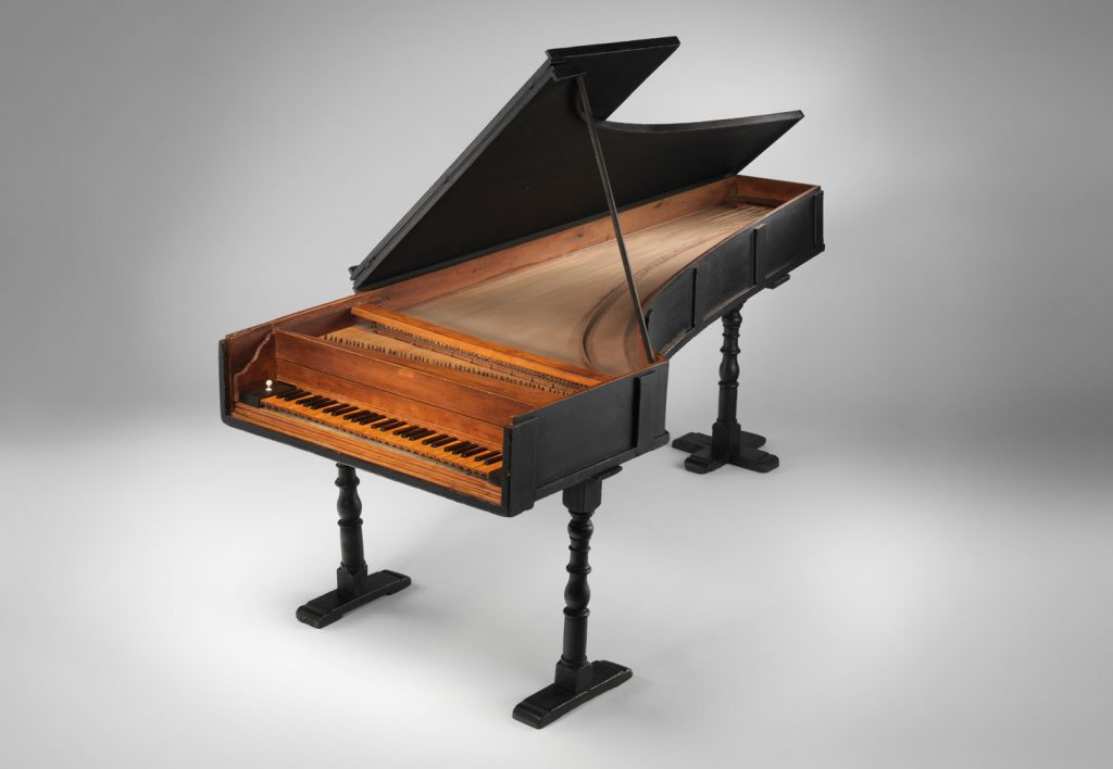 The restored 1720 Cristofori piano