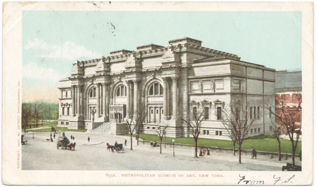 The Metropolitan Museum of Art in 1898