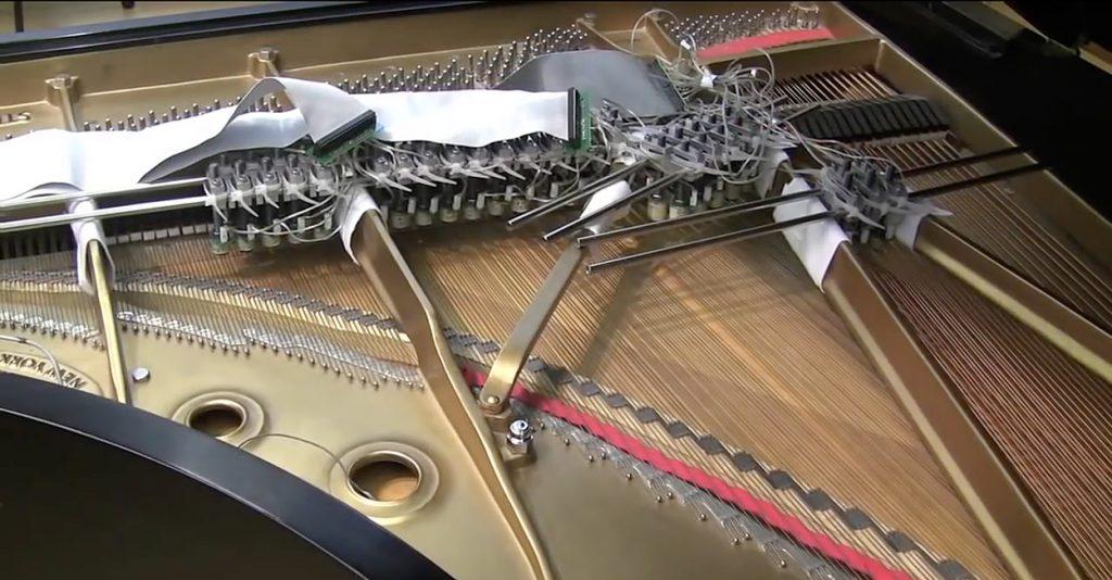 The magnetic resonator piano's actuators