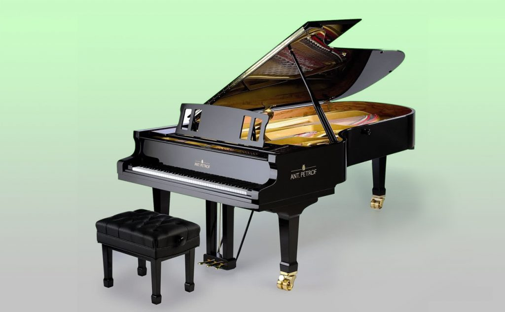 The Ant.Petrof 275 Concert Grand Piano