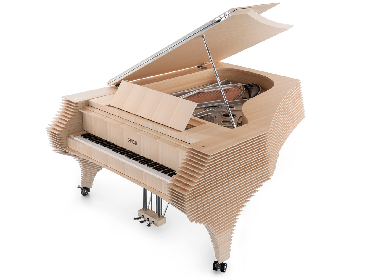 The Fazioli Kengo Kuma Grand Piano