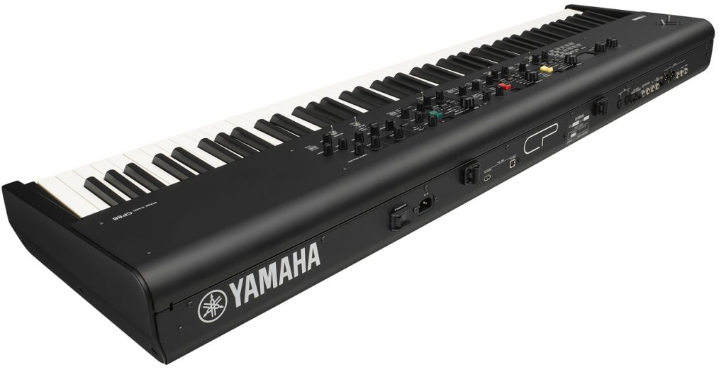 Image showing the Yamaha CP88 Stage Piano from behind