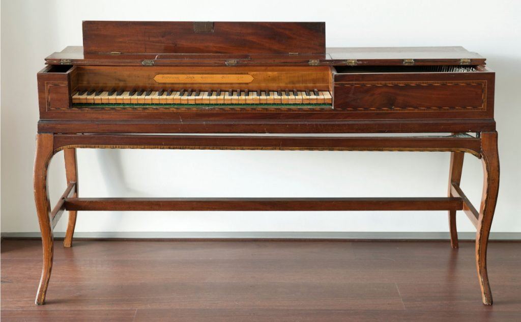 The First Fleet piano