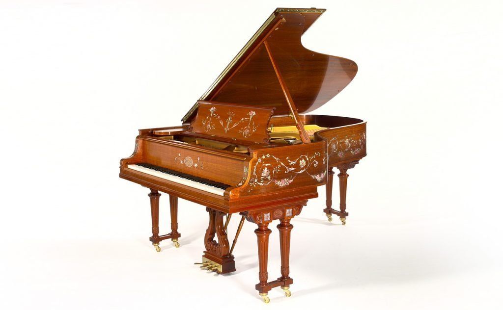 Replica of the Cole Porter piano