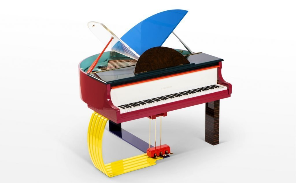 "Three-quarter view of Edelweiss Pianos' ""Elmer"""