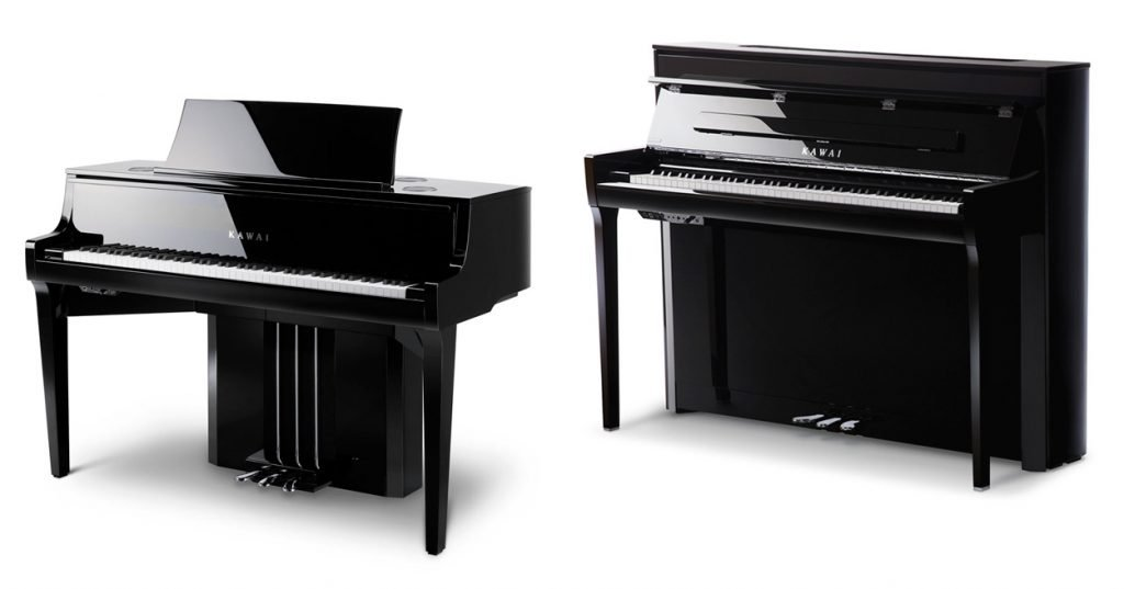 The KAwai NOVUS NV10 and the new NOVUS NV5