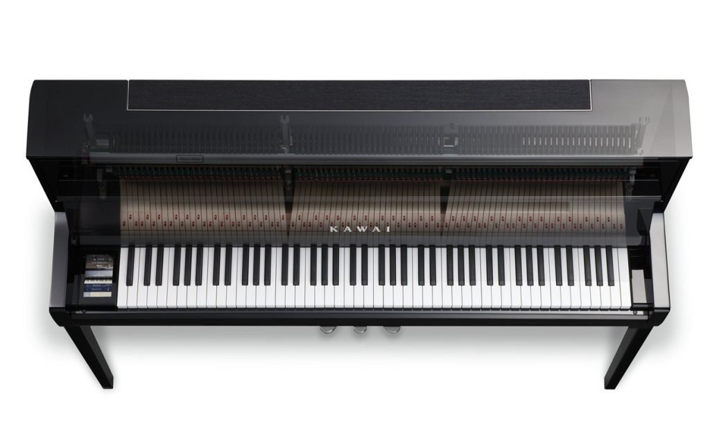 The Kawai NOVUS NV5 from above