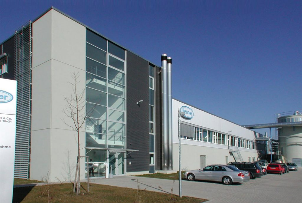 The Renner headquarters Gärtringen, Germany