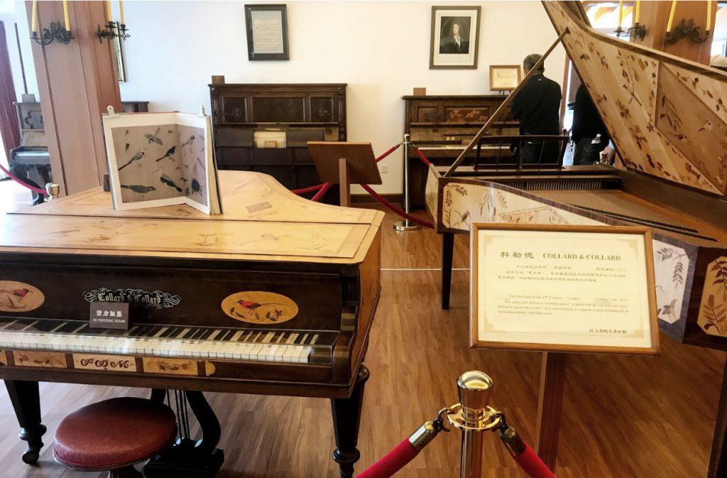 Kulangsu (Gulangyu) Piano Museum interior