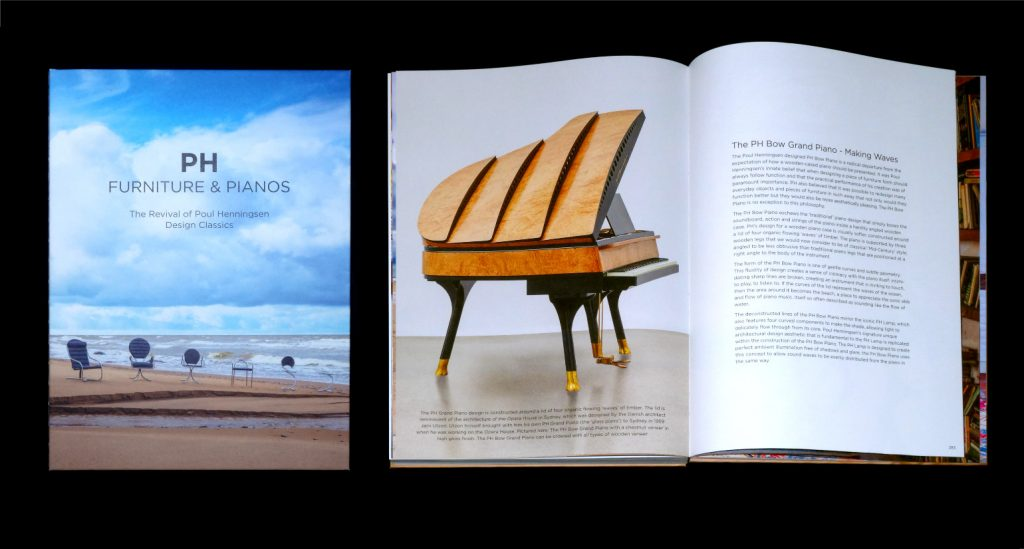 Images from the new book PH Furniture & Pianos: The Revival of Poul Henningsen Design Classics