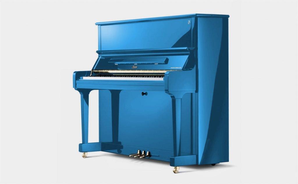 studio image of Boston UP-126E upright piano