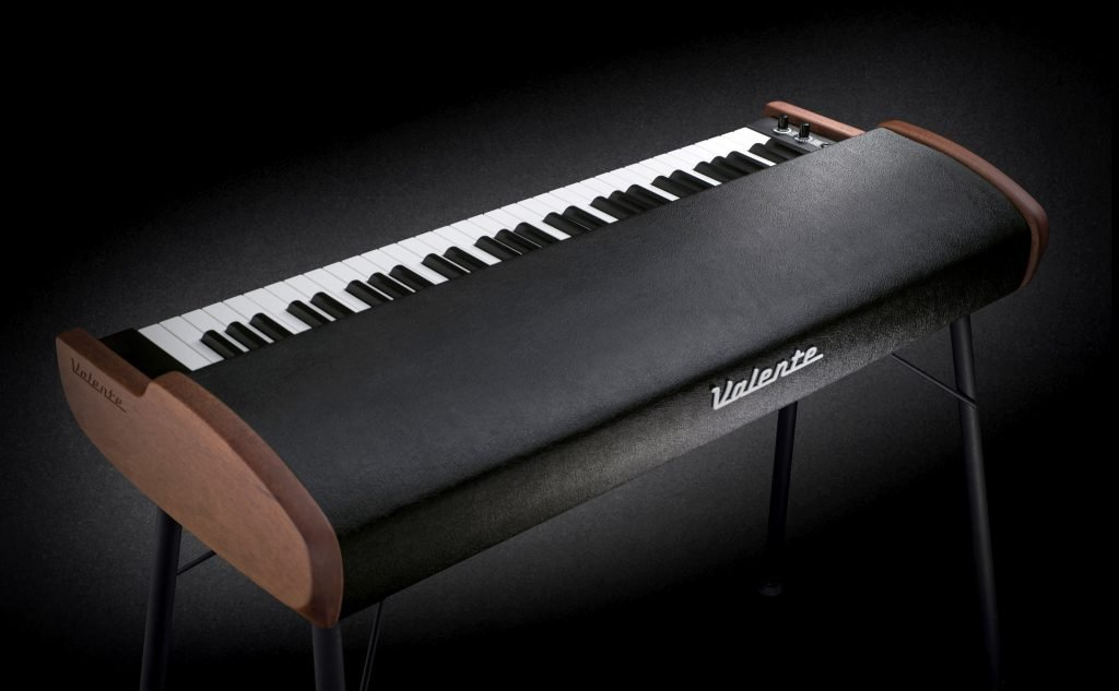 rear view of the Valente Electric Piano