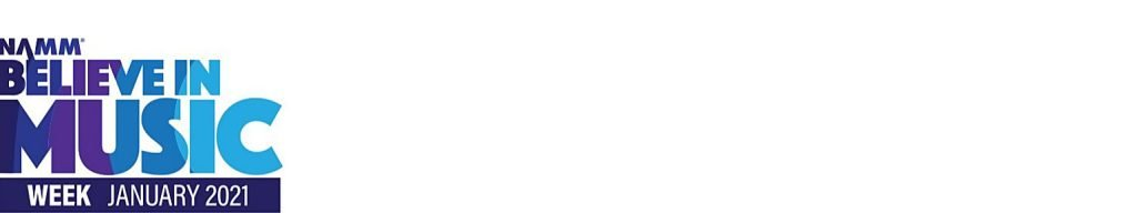 NAMM Believe in Music logo