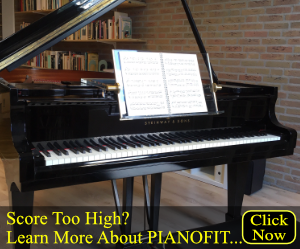 Ad for PIANOFIT