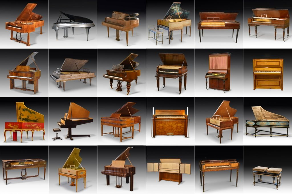 composite image of some of the items being sold at the auction