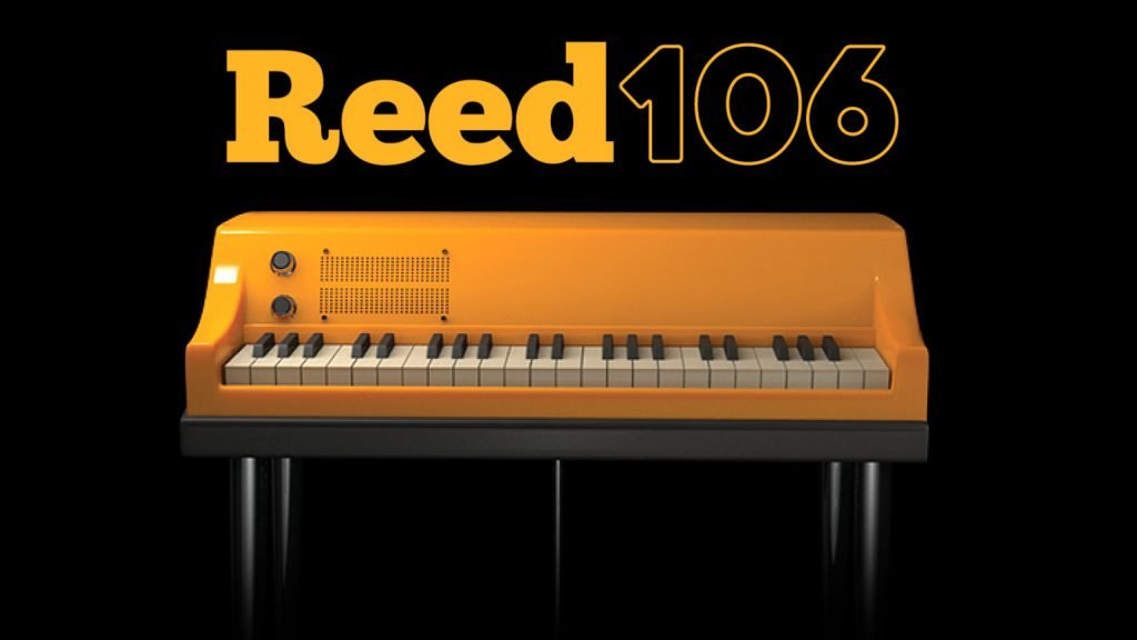 imaginary image of the Reed106 virtual electric piano