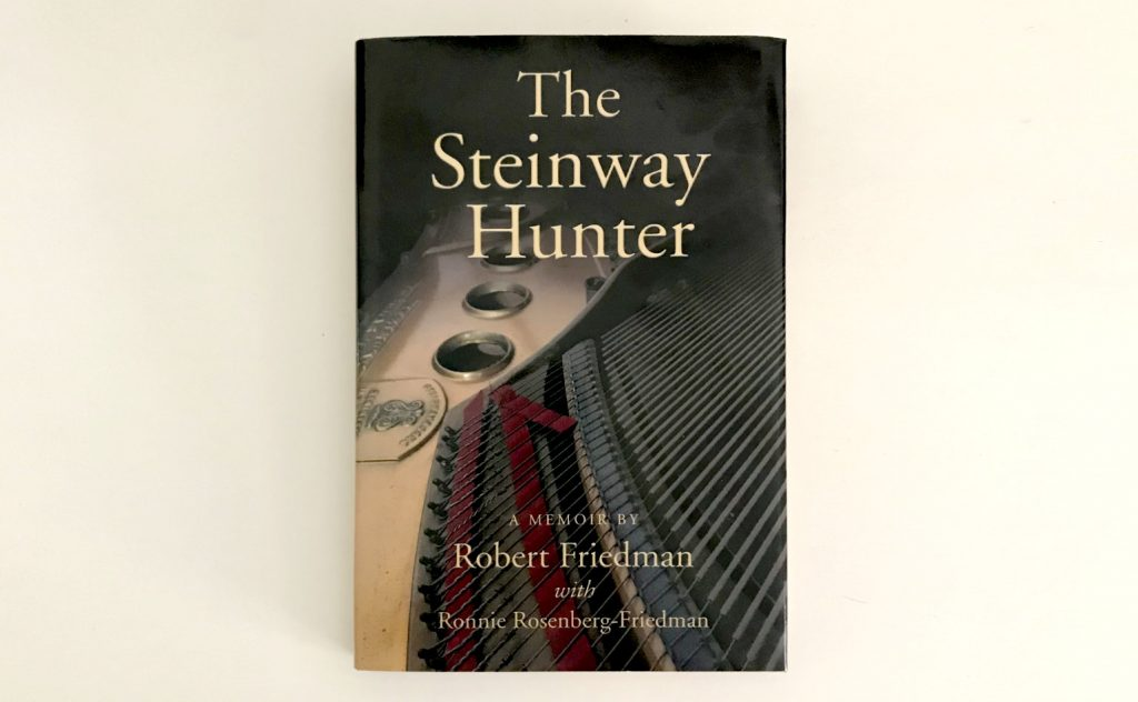 """the cover of """"The Steinway Hunter"""""""